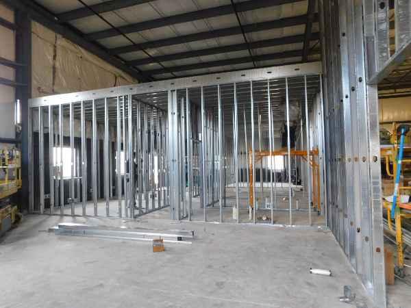 Accurate Regrinding Interior Walls