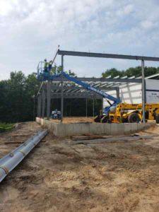 GLCC Erecting Steel 2