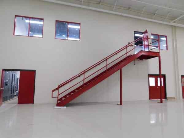 Plascore Stairway to Mezzanine