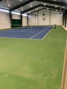 Coloma Barn Tennis Court
